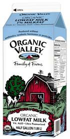 Organic Valley organic milk